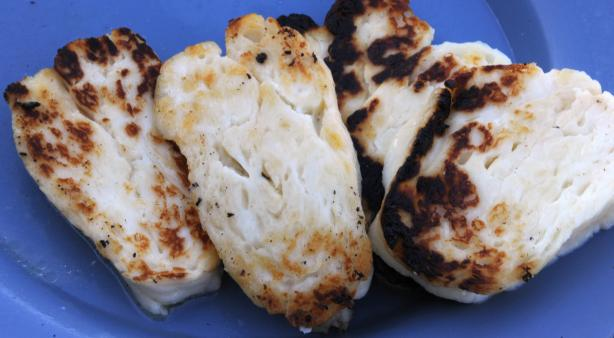 Akrotiri: Fried Halloumi. Photo by GiddyUpGo