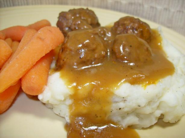 """please Make Those Meatballs!""- Crockpot Meatballs. Photo by Chef shapeweaver ©"