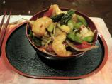 Stir Fried Prawns in Chilli Bean Sauce