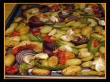 Caponata-Delicious Roasted Vegetables