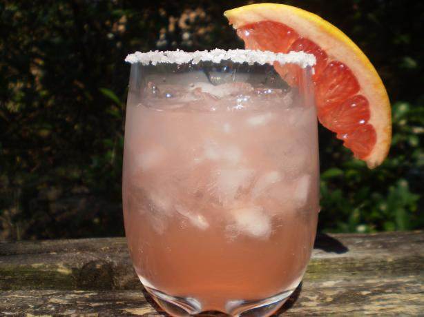 Pink Salty Dog (Cocktail). Photo by breezermom