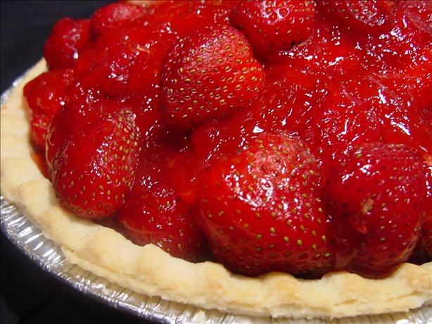Easy Strawberry Pie. Photo by Sharlene~W