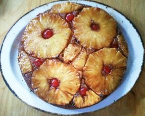 Grilled Pineapple Upside Down Cake. Photo by Nessalynn