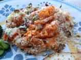 Sweet Potato Gratin With Pecan-Crumb Topping