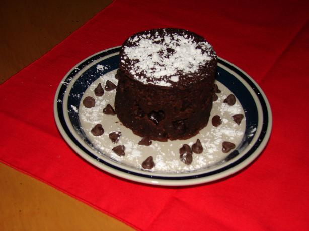 Chocolate Cake in a Cup- Gluten Free Style. Photo by maryb22245