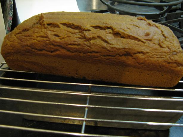 Pumpkin Blender Bread (Vegan). Photo by worldmom12