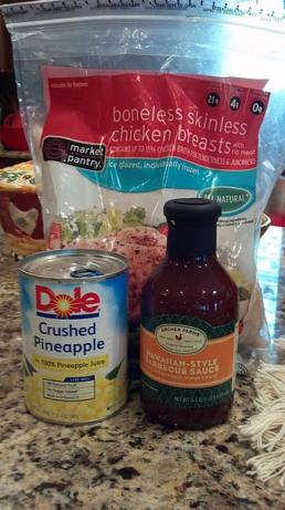 Hawaiian Crock Pot Chicken. Photo by doreenh68