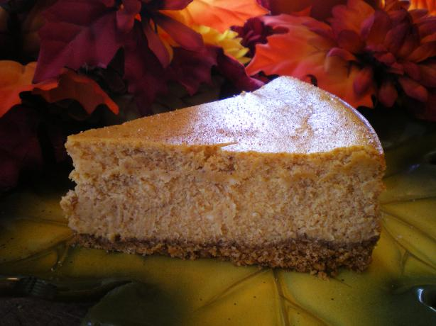 The Cheesecake Factory Pumpkin Cheesecake. Photo by Julie B's Hive