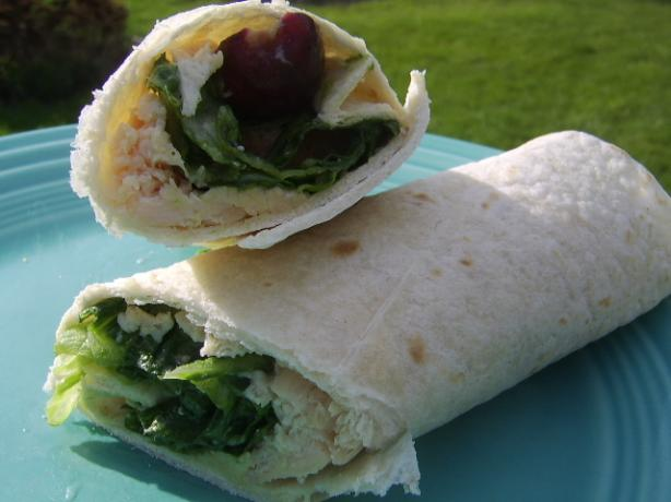 Grape Chicken Caesar Wrap. Photo by LifeIsGood