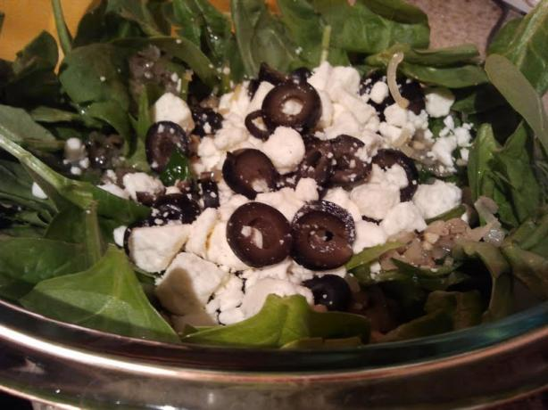 Wilted Spinach Salad. Photo by sofie-a-toast