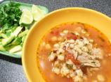 Chipotle Chicken Posole