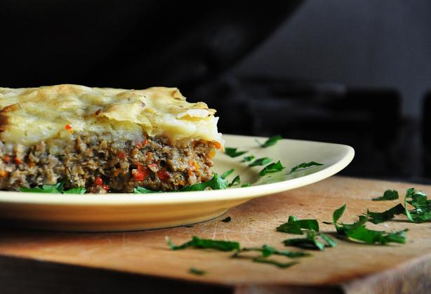 Vegetarian Mushroom Shepherd&#39;s Pie - With Vegan Version. Photo by gourmandelle