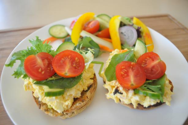 Egg Salad on English Muffin. Photo by I'mPat