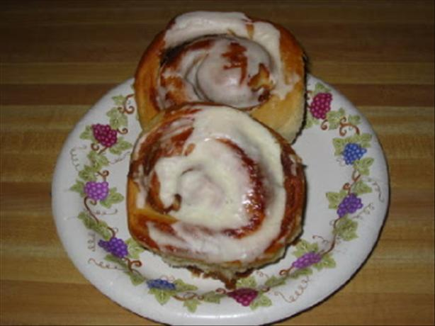 Buttermilk Cinnamon Rolls. Photo by Laudee