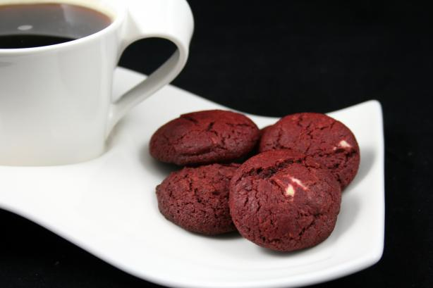 Red Velvet Cookies. Photo by **Tinkerbell**