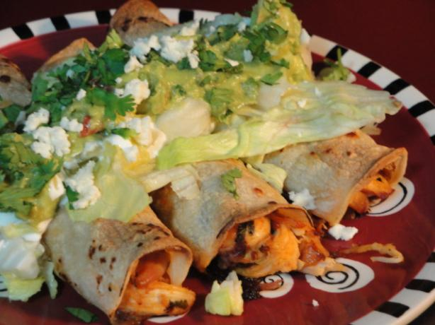 Baked Chicken Taquitos. Photo by Muffin Goddess