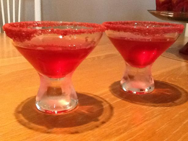 Pomegrante Martini. Photo by CIndytc