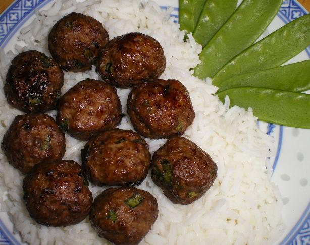 Quick & Easy Teriyaki Meatballs. Photo by Julie B's Hive
