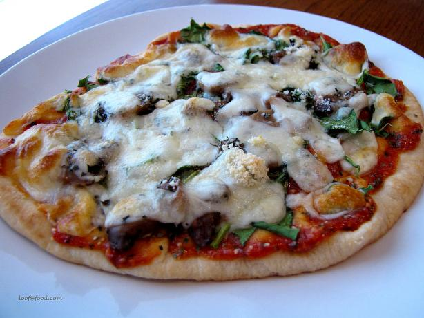 Meatless Pita Pizza. Photo by loof