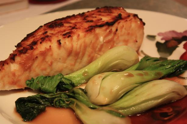Miso Glazed Halibut. Photo by IngridH