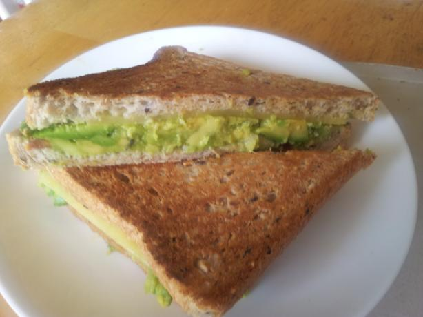 Guacamole Grilled Cheese Sandwich. Photo by I'mPat