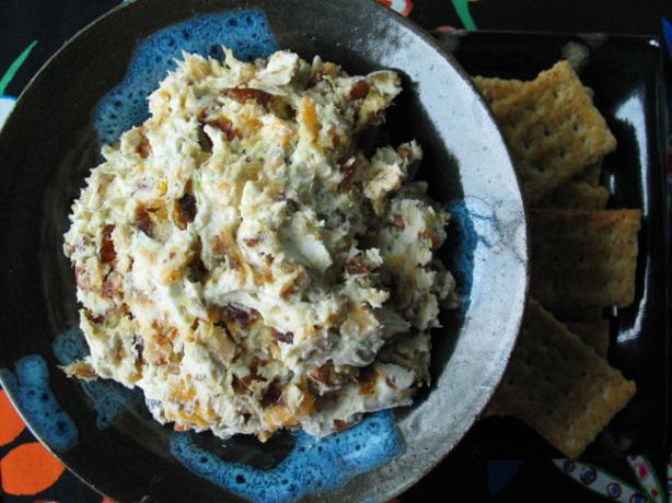 Zesty/Peppery/Sweet-Blue Cheese and Date Spread -- or Balls!. Photo by flower7