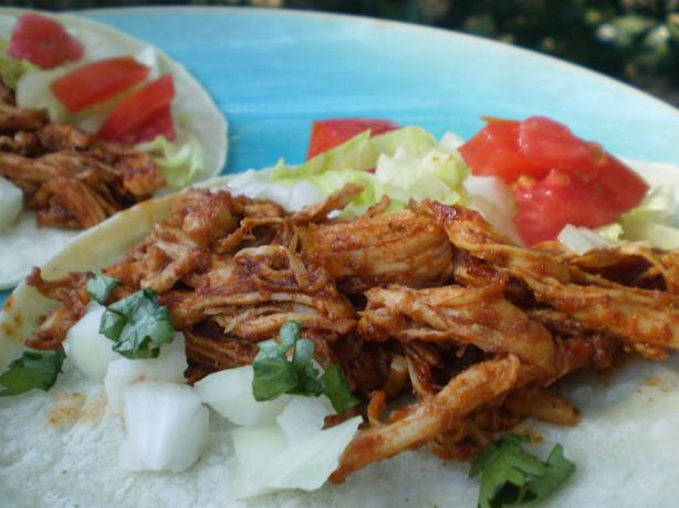 Shredded Chicken Tacos. Photo by breezermom