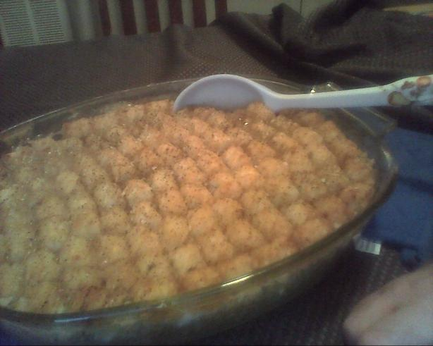 Tator Tot Casserole. Photo by jodieleigh