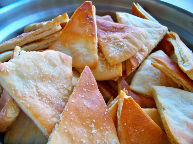 Fresh Baked Pita Chips. Photo by Prose