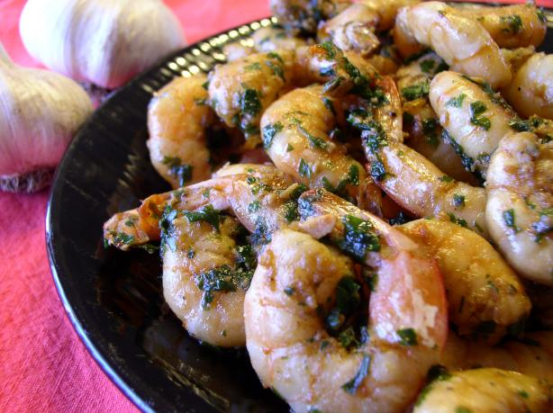 The Best Garlic Shrimp in the Whole Wide World. Photo by Bayhill