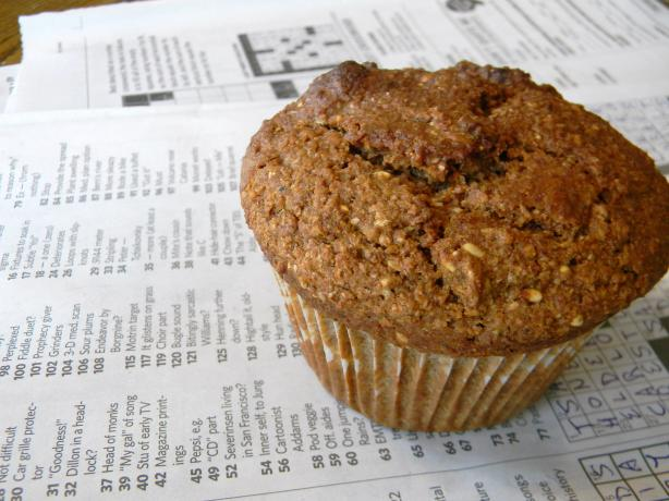 Citrusy Bran - Kiwi Muffins. Photo by WhiskingWings