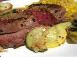 W W Peppered Steak With Brandy-Mustard Sauce - 5 Pts.
