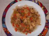 Steamed Chicken and Vegies
