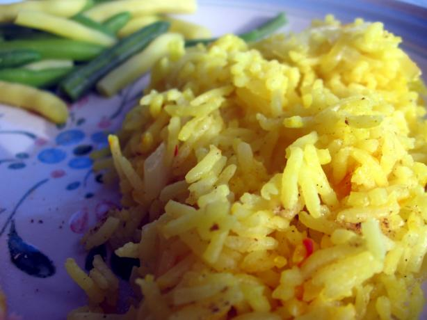 Saffron Rice. Photo by Dreamer in Ontario