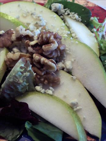 pear and blue cheese salad. Photo by HeatherFeather