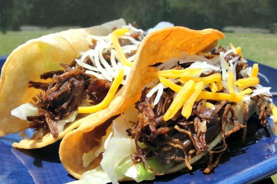 Chipotle Shredded Beef for Tacos or Burritos. Photo by diner524