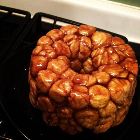 Cinnamon Pull-Apart Bread from Scratch. Photo by dweiler