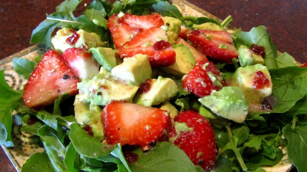 Avocado-Strawberry Salad. Photo by Rita~