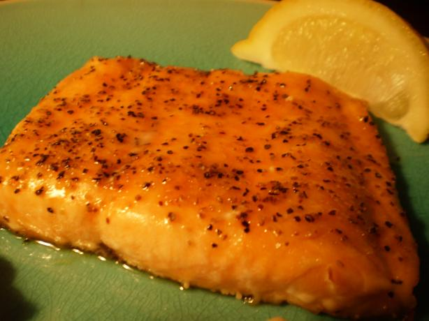 Peppery-Sweet Oven-Roasted Salmon. Photo by breezermom