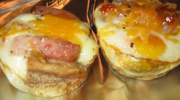 Easy Egg Sandwich Cups. Photo by JFitz