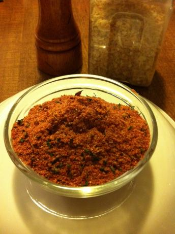 Homemade French Fry Seasoning Blend. Photo by Chef GreanEyes