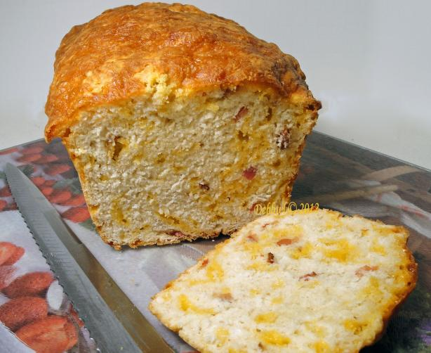 Bacon Cheddar Beer Bread. Photo by Debbwl