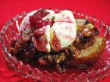 Roasted Pears With Fresh Cranberries