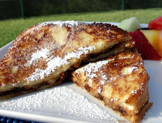 Banana-Chocolate French Toast. Photo by diner524