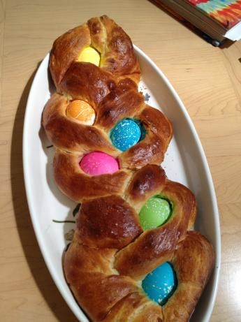 Easter Bread. Photo by Vicki Kaye