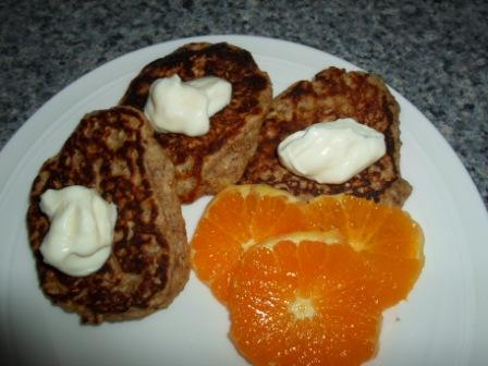 Healthy Oatmeal Pancakes. Photo by Kiwi Kathy