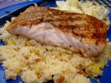 Grilled Salmon With Brown Butter Couscous