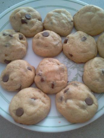 Almond Chocolate Chip Cookies (No Baking Powder/Soda!). Photo by BrutalAngel
