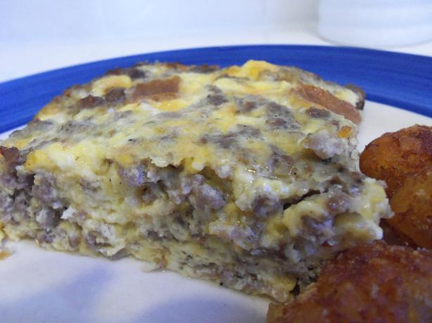 Lyn O&#39;s Breakfast Casserole. Photo by AZPARZYCH