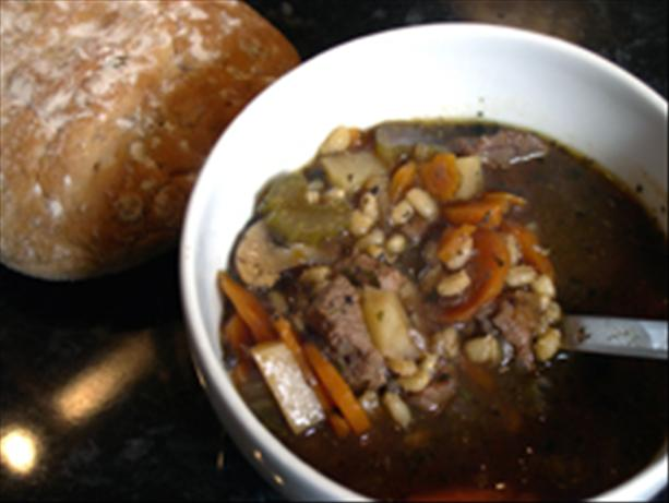 beef barley stew/soup. Photo by -Sylvie-